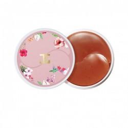 Гидрогелевые патчи с цветами гибискуса Jayjun Roselle Tea Eye Gel Patch
