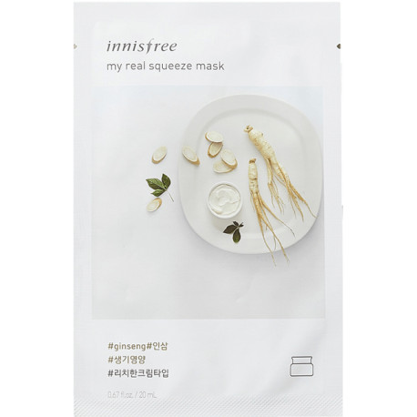 Innisfree My real squeeze mask