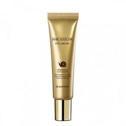 SeaNtree, Питательный крем для кожи вокруг глаз Snail Gold 24K Eye Cream