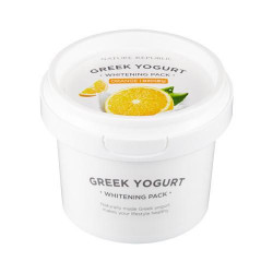 NATURE REPUBLIC GREEK YOGURT PACK ORANGE (WHITENING)