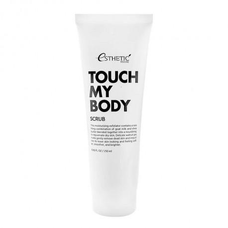 Esthetic House Touch My Body Goat Milk Body Scrub
