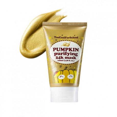 Тыквенная маска с золотом Too Cool For School Pumpkin Purifying 24K Mask
