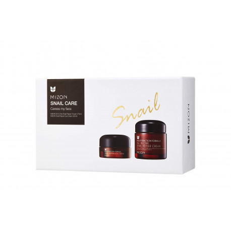 mizon snail caress my face set