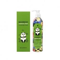 Bamboo charcoal fresh cleansing foam
