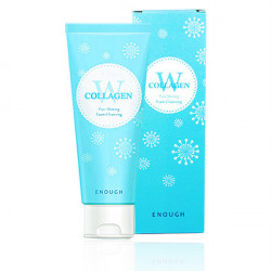 Enough W Collagen Pure Shining Foam Cleansing