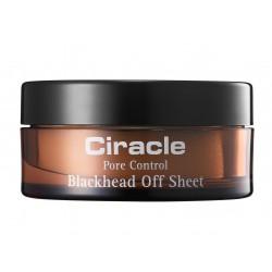 Салфетки для удаления чёрных точек Ciracle Pore Control Blackhead Off Sheet