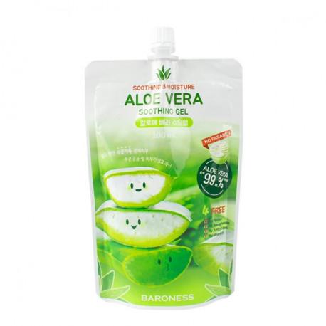 Успокаивающий увлажняющий гель с экстрактом алоэ Baroness Aloe Vera Soothing Gel