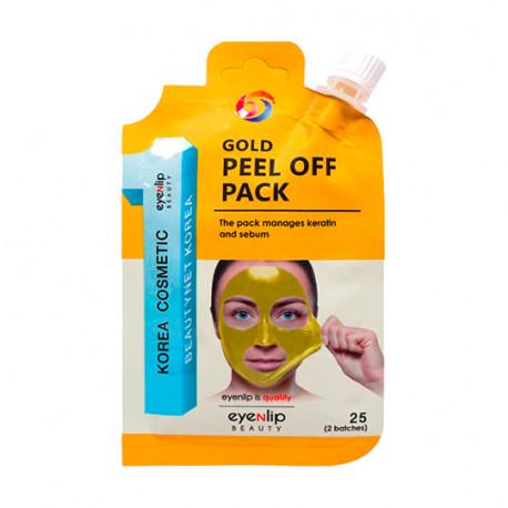 Маска-плёнка EYENLIP GOLD PEEL OFF PACK заказывай на Oh Beautybar!