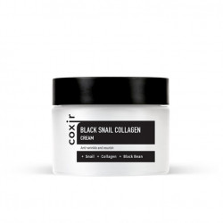 Антивозрастной питательный крем Coxir Black Snail Collagen Cream
