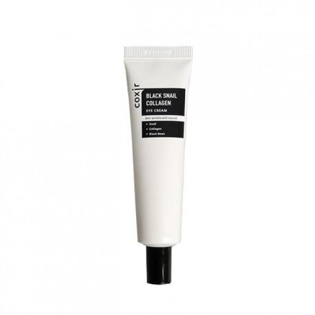 Антивозрастной питательный крем для век Coxir Black Snail Collagen Eye Cream