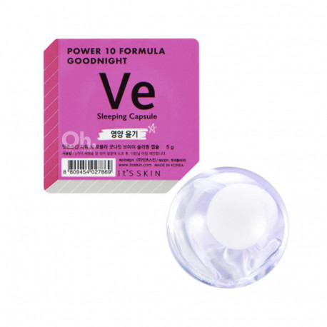 Питательная ночная маска Ve It's Skin Power 10 Formula Goodnight Sleeping Capsule