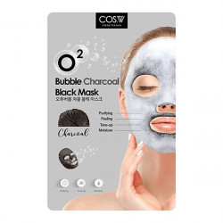 COS W O2 Bubble Black Mask