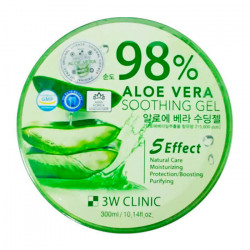 3W Clinic Aloe Vera Soothing Gel 98%