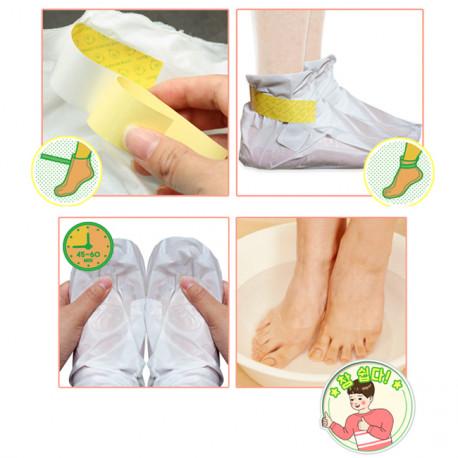 Как использовать пилинг носочки для ног Elizavecca