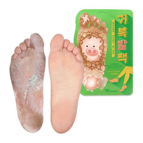 Пилинг носочки для мягких пяточек Elizavecca