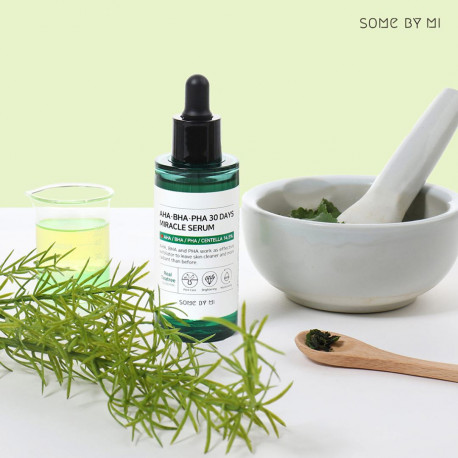 Кислотная сыворотка для проблемной кожи Some By Mi AHA BHA PHA 30 Days Miracle Serum