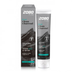 Aekyung 2080 Black Clean Charcoal Toothpaste