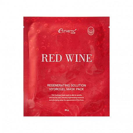 Esthetic House Red Wine Regenerating Solution Hydrogel Mask Pack