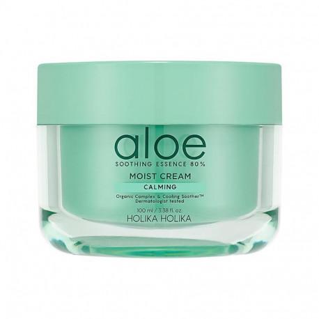 HOLIKA HOLIKA Aloe Soothing Essence 80% Moisturizing Cream 100ml