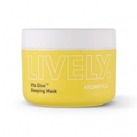 Ночная маска AROMATICA Lively Vita Glow Sleeping Mask