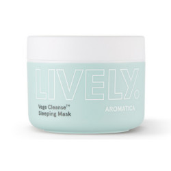 Ночная маска AROMATICA LIVELY VEGE CLEANSE SLEEPING MASK