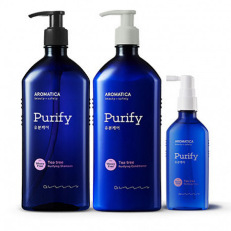 AROMATICA Tea Tree Purifying Shampoo 400ml