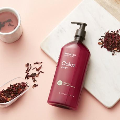 AROMATICA Hibiscus Color Care Shampoo 400ml