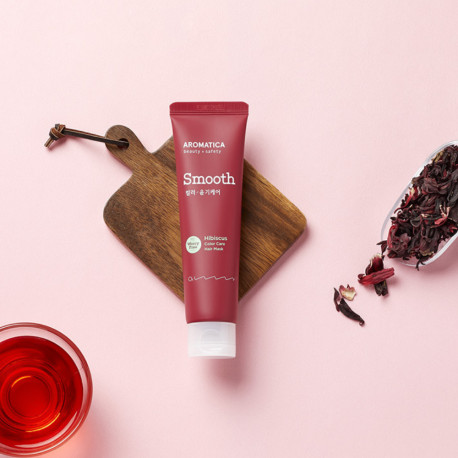 AROMATICA Hibiscus Color Care Leave-in Hair Mask