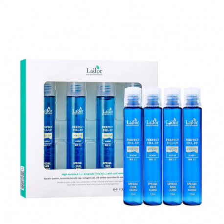 Филлер для волос 4 ампулы Lador Perfect Hair Fill-Up