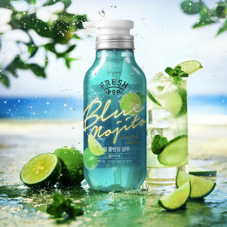 Fresh Pop Limited Edition Blue Mojito SHAMPOO