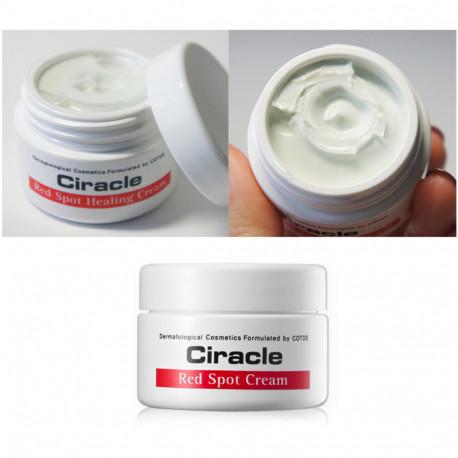 Текстура крема для проблемной кожи Ciracle Red Spot Cream