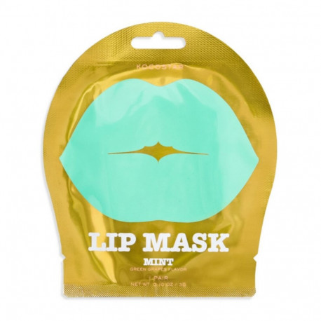 Kocostar Lip Mask Pink Peach Flower Single Pouch