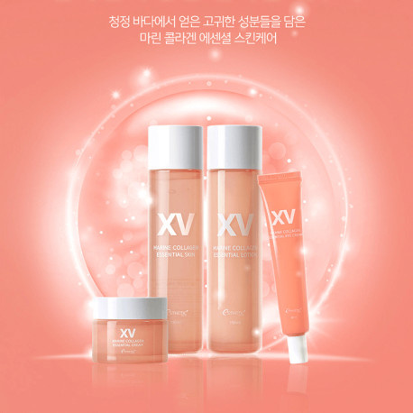 Корейская косметика Esthetic House с морским коллагеном Marine Collagen Essential Eye Cream