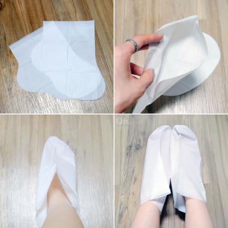 Попробуй и наслаждайся результатом Petitfee Dry Essence Foot Pack