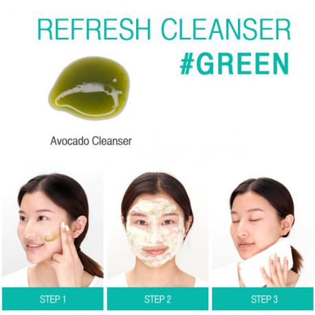 Пенка-скраб Village 11 Factory Refresh Cleanser Green