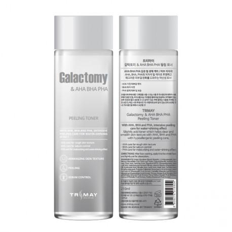TRIMAY Galactomy & AHA-BHA-PHA Peeling Toner