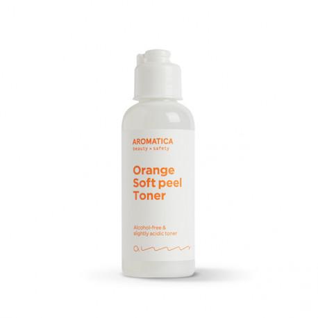 Миниатюра тонера AROMATICA Orange Soft Peel Toner