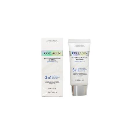Корейский бб крем Enough Collagen Whitening Moisture BB Cream SPF47 PA+++