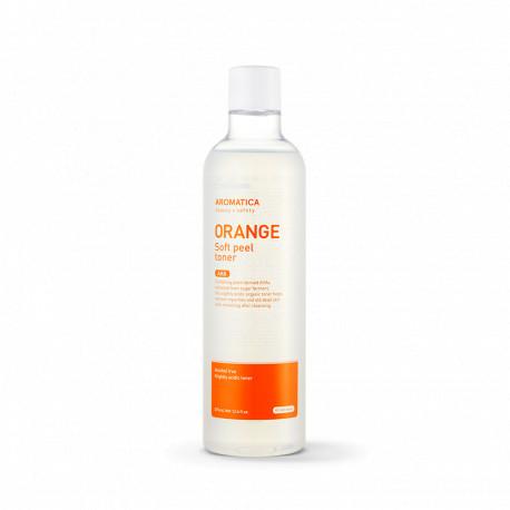Тонер с фруктовыми кислотами AROMATICA Orange Soft Peel Toner