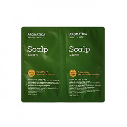 Aromatica Sample Rosemary Scalp Shampoo+Conditioner