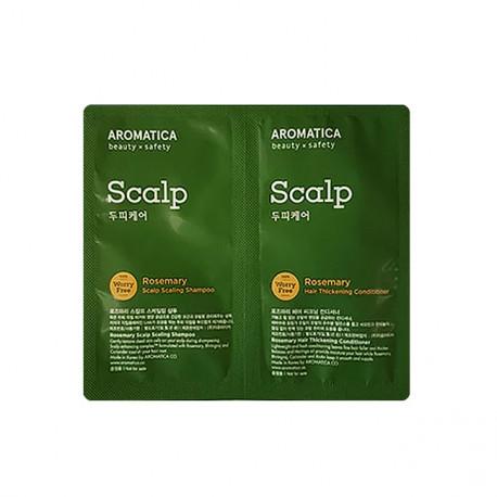 Aromatica Sample Rosemary Scalp Shampoo+Conditioner