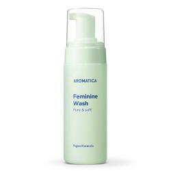Пенка для интимной гигиены AROMATICA Pure & Soft Feminine Wash