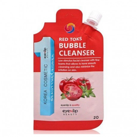 Пузырящаяся пенка для умывания Eyenlip Red Toks Bubble Cleanser