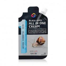 Крем с муцином черной улитки Eyenlip Black Snail All In One Cream купить