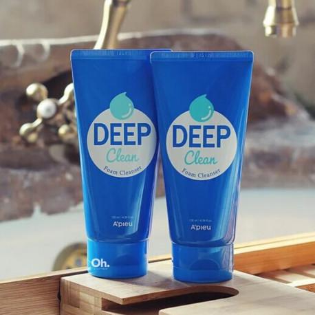 A'Pieu Deep Clean Foam Cleanser