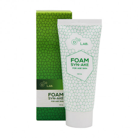 Пенка для умывания D2 Lab Foam Syn-Ake заказывай на Oh Beautybar!