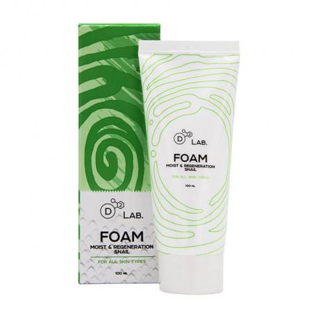 Купить D2 Lab Foam Moist & Regeneration Snail можно в Oh Beautybar!
