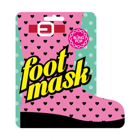 Bling Pop Shea Butter Healing Foot Mask