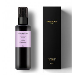 VALMONA ULTIMATE HAIR OIL SERUM AROMA COMPOSITION