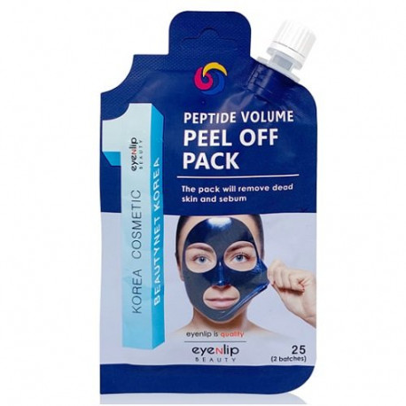 Бюджетную маску-плёнку EYENLIP PEEL OFF PACK можно купить на Oh Beautybar!